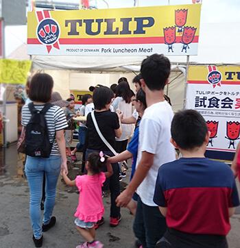 お客様の声「Tulip Food Company Japan様」第43回那覇ハーリー2017イベント会場の様子